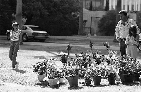 Unos días despues del funeral