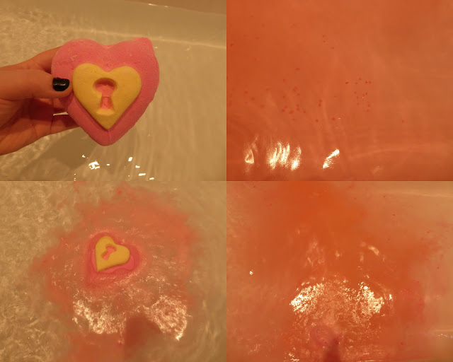 love locket from lush in the water