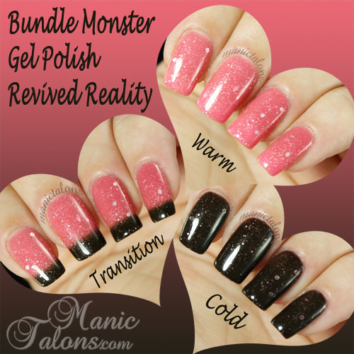 Bundle Monster Thermal Gel Polish Revived Reality Swatch