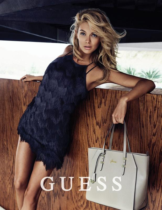 Guess handtassen winter 2015 : The essentialist fashion advertising updated daily