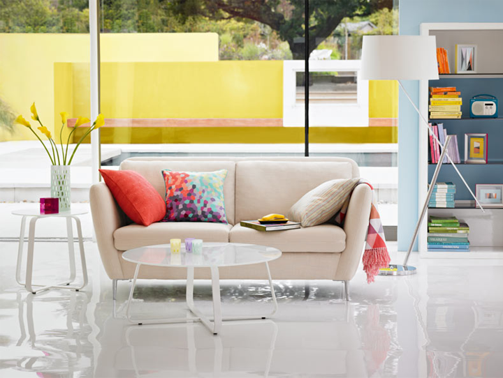 Spring ideas by marks spencer mark - Marks and spencer living room ideas ...