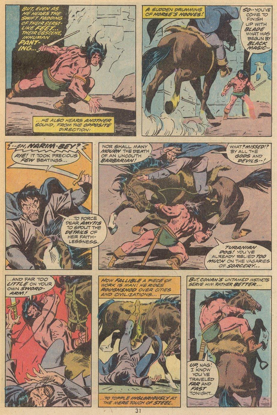 Conan the Barbarian (1970) Issue #38 #50 - English 22