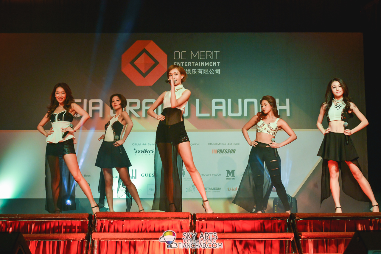 Super Girls 超女時代 (Hong Kong) @ OC Merit Entertainment 无限娱乐有限公司 Asia Grand Launch