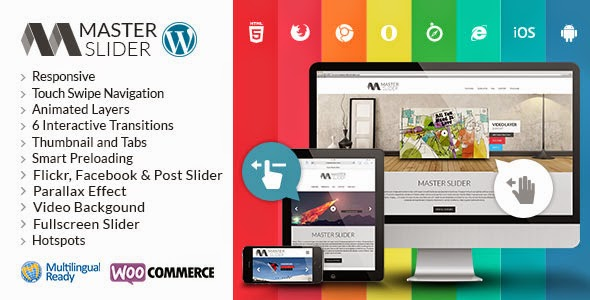 Master Slider WordPress Responsive Touch Slider Version 2.3.0 free