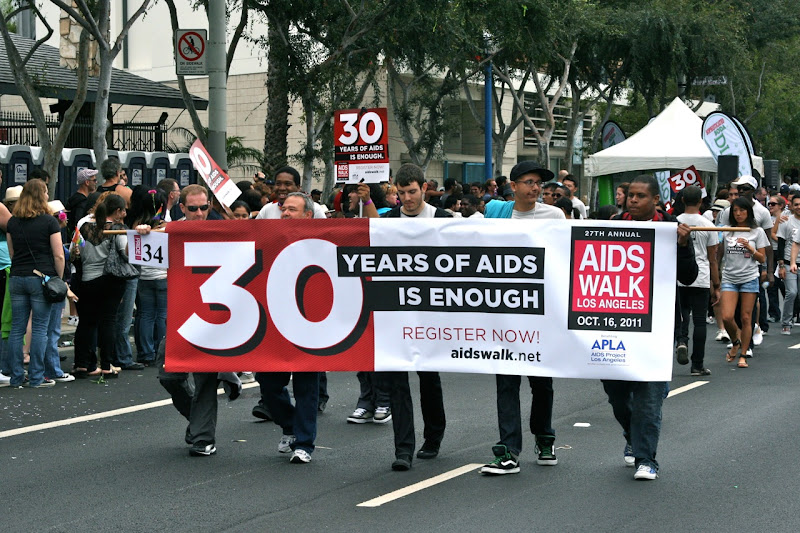 30 years AIDS WEHO Pride Parade