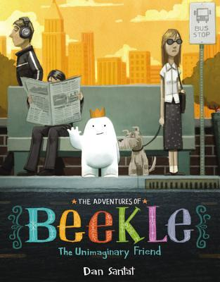 The Adventures of Beekle: The Unimaginary Friend by Dan Santat won the Caldecott this year.  In my book review I give this book 4.5 out of 5 stars.  Fabulous pictures and cute story for preschool through 3rd grade. Alohamora Open a Book http://www.alohamoraopenabook.blogspot.com/