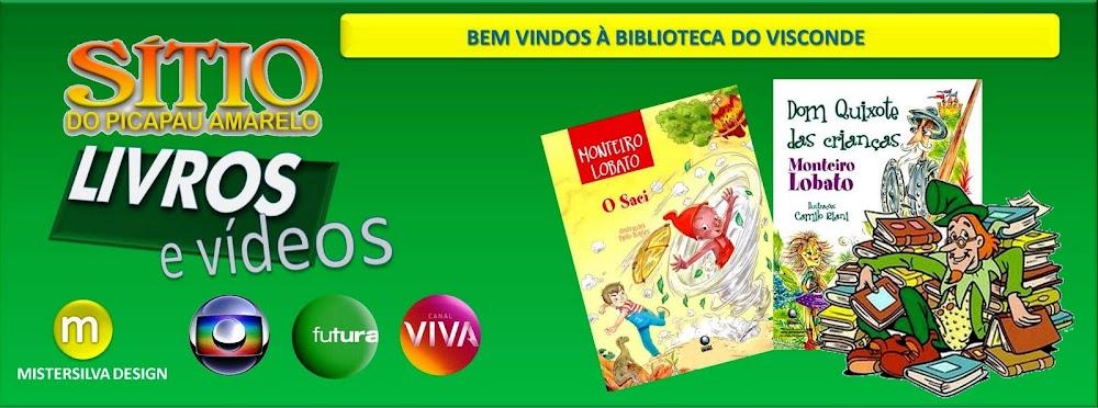 Livros e Videos SÍTIO DO PICAPAU AMARELO