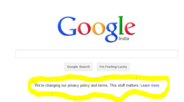 Google new privacy policy