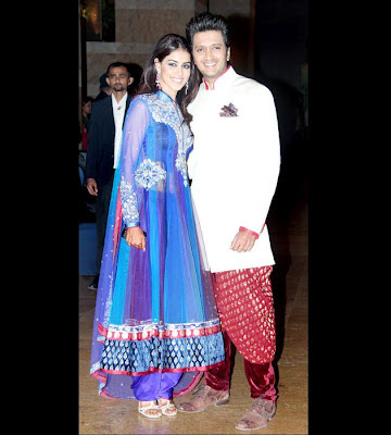 Riteish and Genelia Stills
