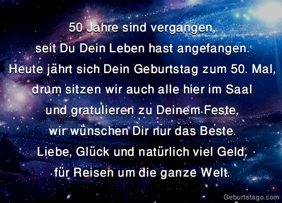 50 Jahre Sind Vergangen 50 Geburtstag Alles Gute Zum Geburtstag