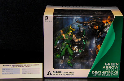"""DC Collectibles Injustice 3.75"""" Green Arrow & Deathstroke 2-Pack"""