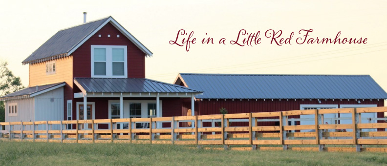 Life in a Little Red Farmhouse