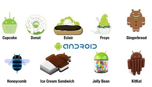 Beberapa Versi Android