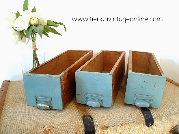 Cajas madera para decorar