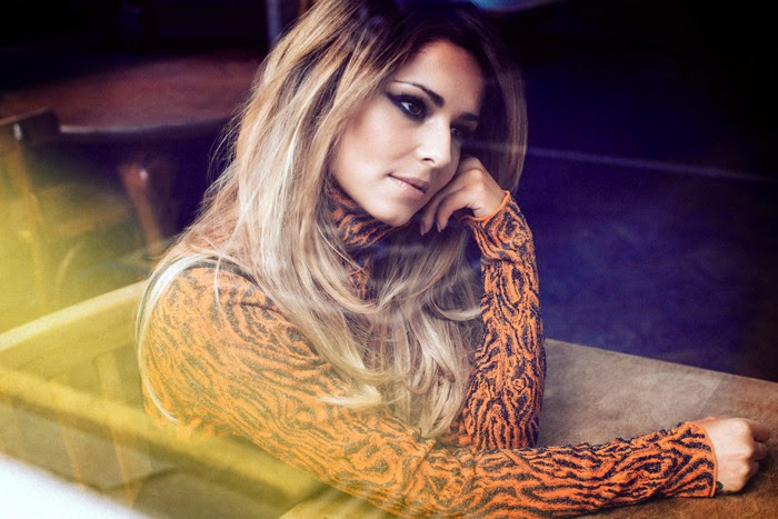 Cheryl Cole in ELLE UK editorial