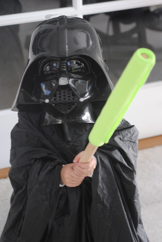 Homemade DIY Star Wars Darth Vader Costume Halloween