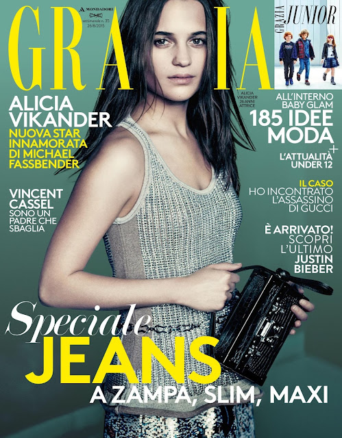 Actress @ Alicia Vikander - Grazia  Italy, August 2015