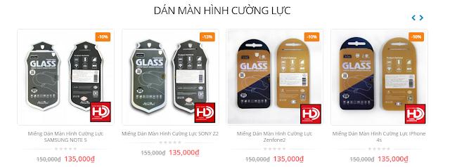 Tấm dán màn hình smartphone bằng nhựa hay kính tốt hơn?