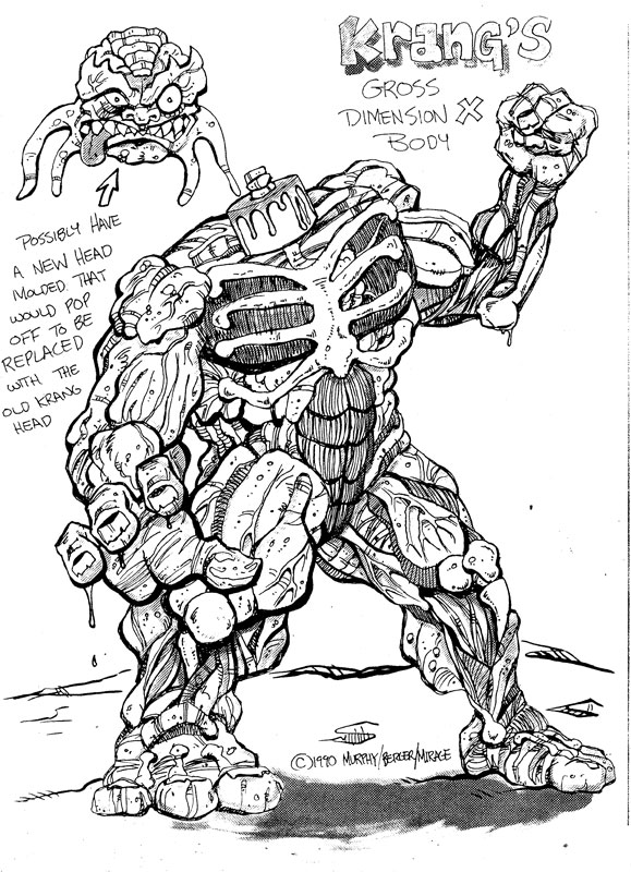 kraang coloring pages - photo#12
