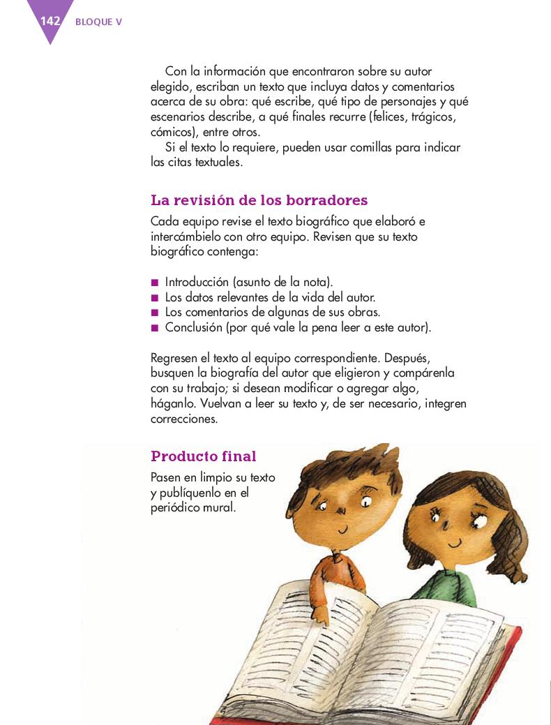 Conocer datos biográficos de un autor de la literatura infantil o juvenil - Español 4to Bloque 5 2014-2015