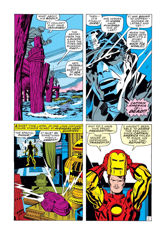 Captain America (1968) Issue #112 #26 - English 3