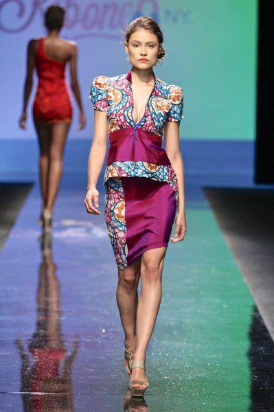 African print suit- modele de robes Africaine sur ciaafrique