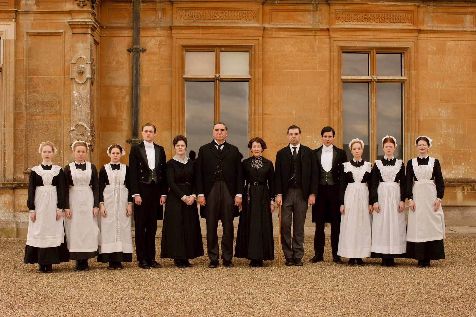 dowton abbey servants
