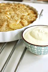 Äppelpaj med hyvlat smör
