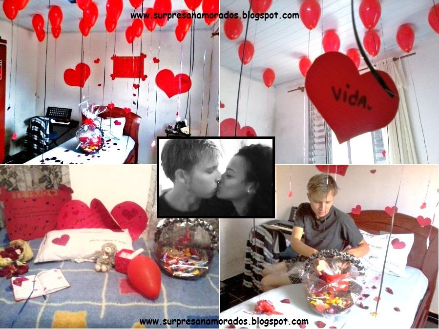 Coisas aleatórias Dicas de surpresa para namorado (a) ~ Quarto Romantico Para O Dia Dos Namorados