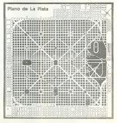Dicen que a esta razón debe La Plata la inexistencia de la calle 52 en la . plano de la plata