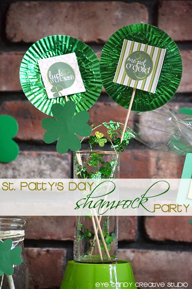 shamrock party, st pattys day, luck, me pot o gold