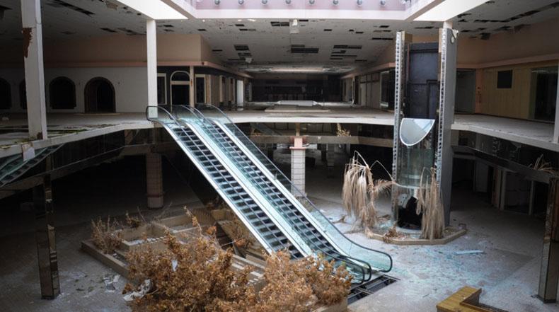 'Viernes Negro': una serie de fotos de centros comerciales abandonados de Estados Unidos