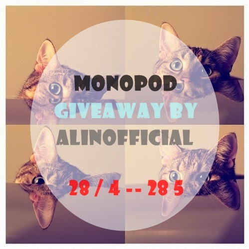 MONOPOD GIVEAWAY BY ALIN OFFICIAL