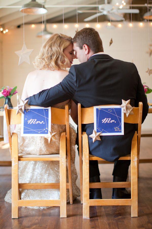 decoración boda cosmos - galaxia - planetas - estrellas - Blog de Bodas