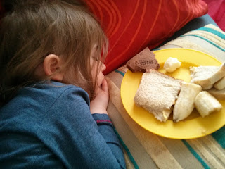 sleep and lunch