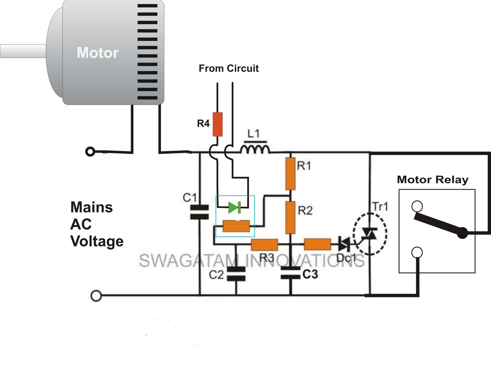 Soft start motor starter wiring diagram get free image for 3 phase motor starter circuit