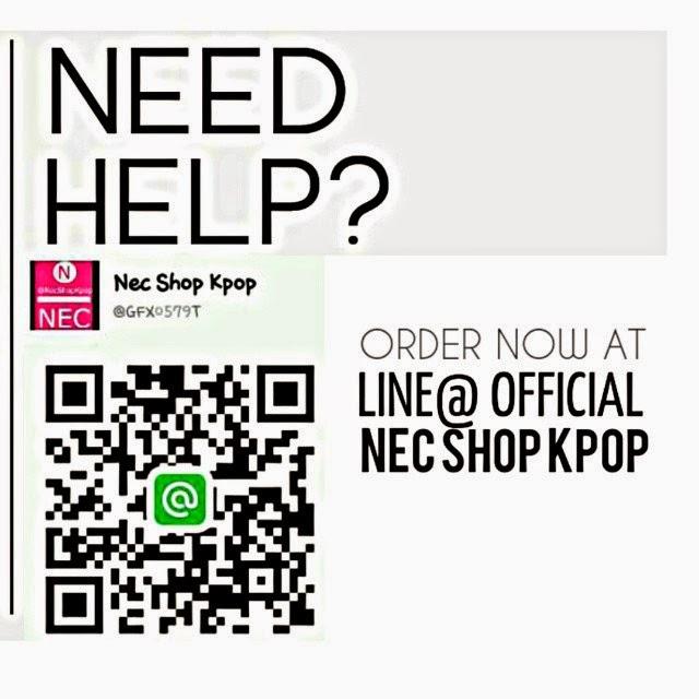 LINE@ OFFICIAL NEC SHOP KPOP