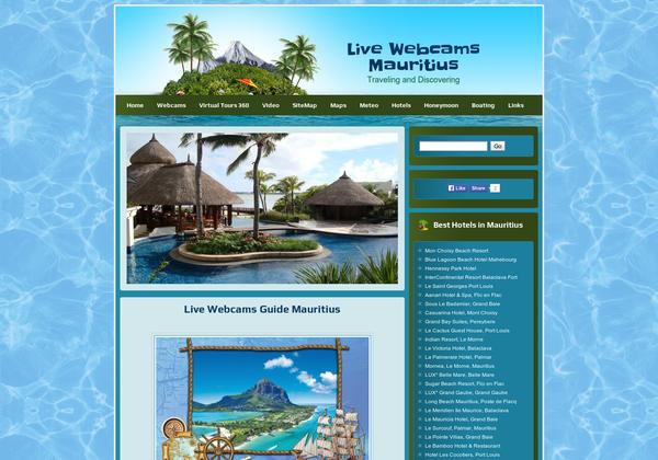 Live Webcams Mauritius