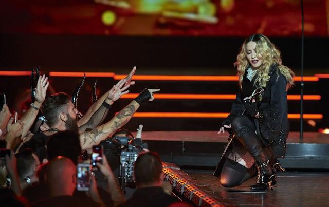 Madonna se retrasa hasta por tres horas e irrita a sus fans.