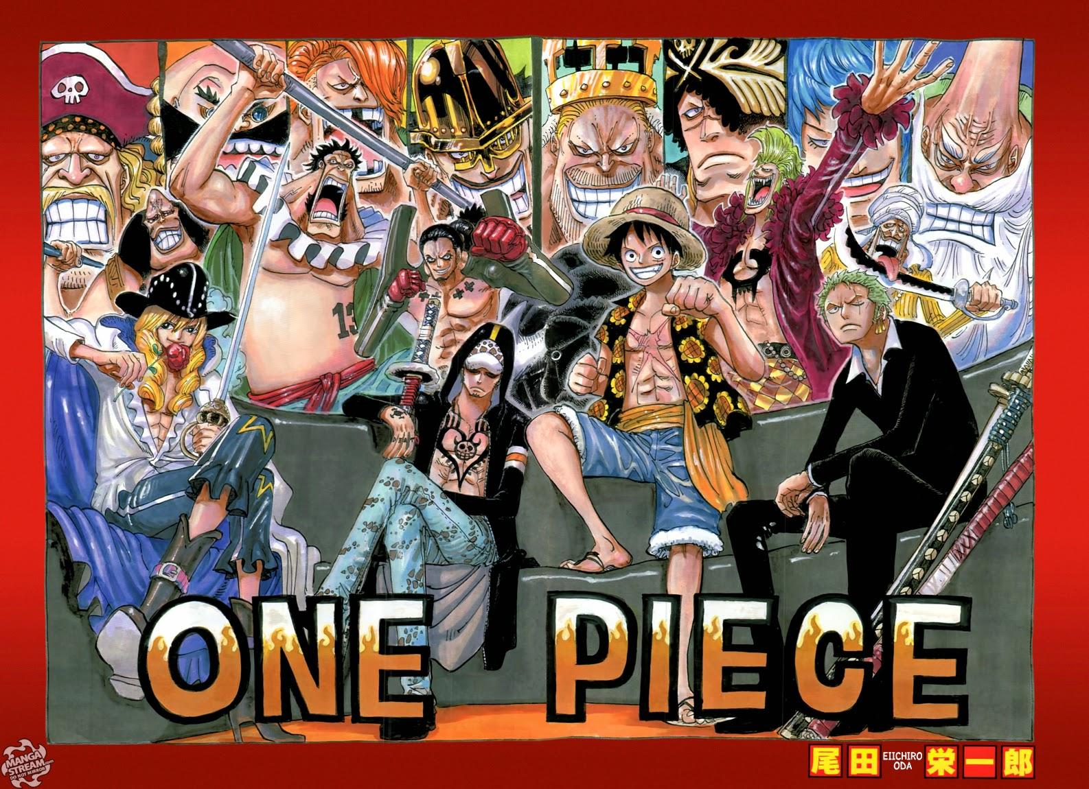One Piece Chapter 750: Khơi màn cuộc chiến 002
