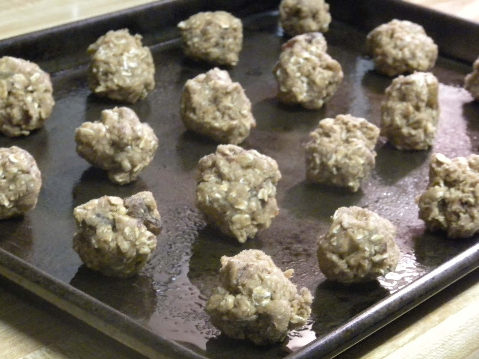 Cooking To Die For: Chai Oatmeal Cookies