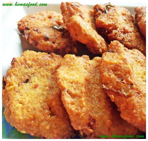 White Pea Fritters - Batani Vada