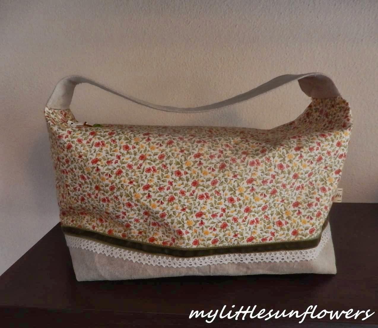 Super My little sunflowers: Tutorial e pattern borsa portatrucchi+  HW14