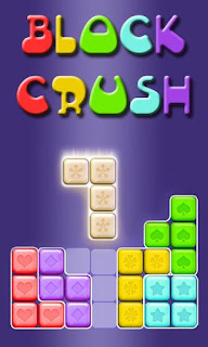 Screenshots of the Block crush for Android tablet, phone.