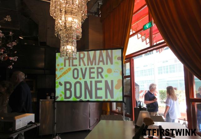 Herman den Blijker book launch: Herman over bonen
