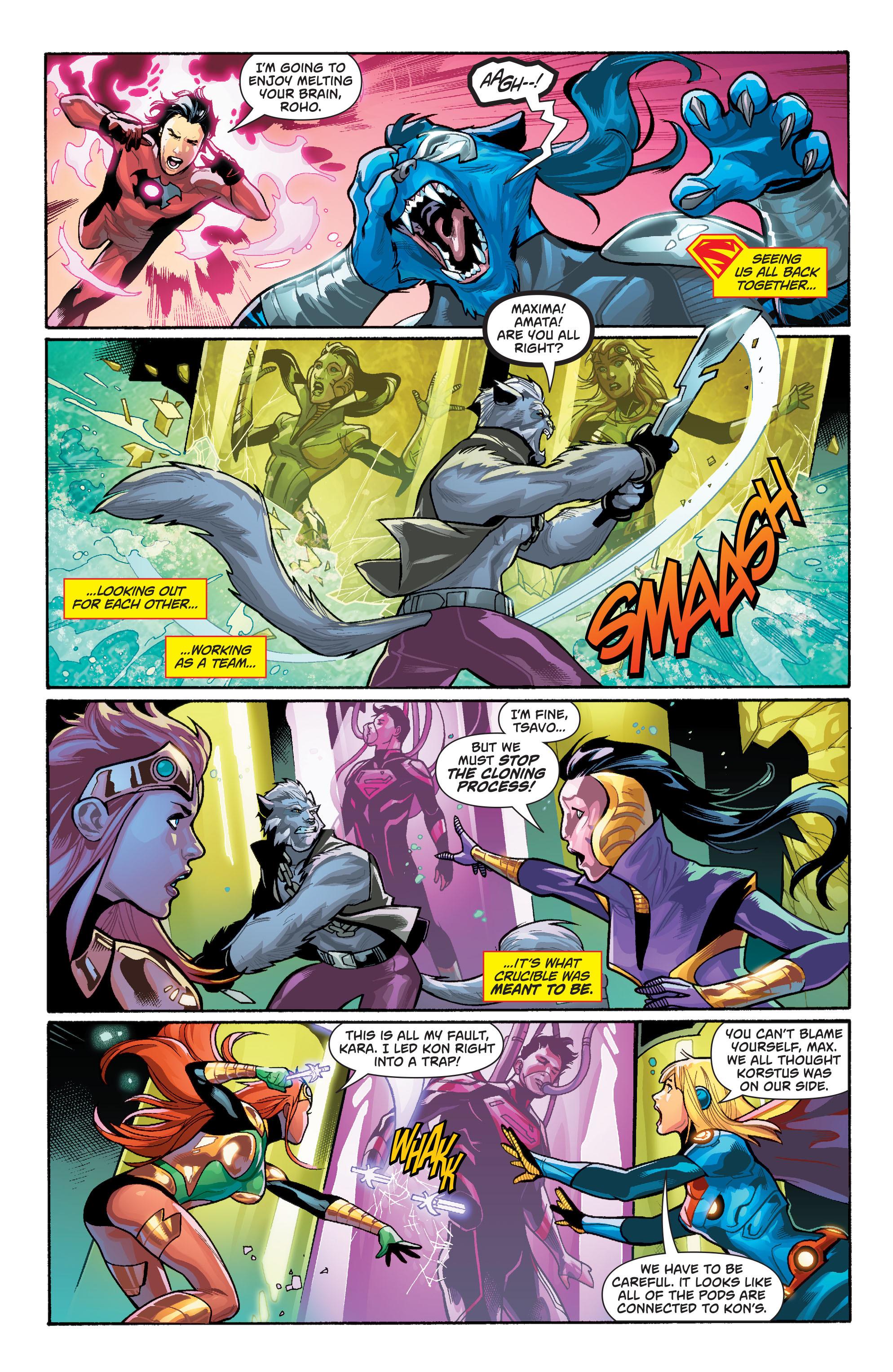 Supergirl (2011) Issue #40 #42 - English 4