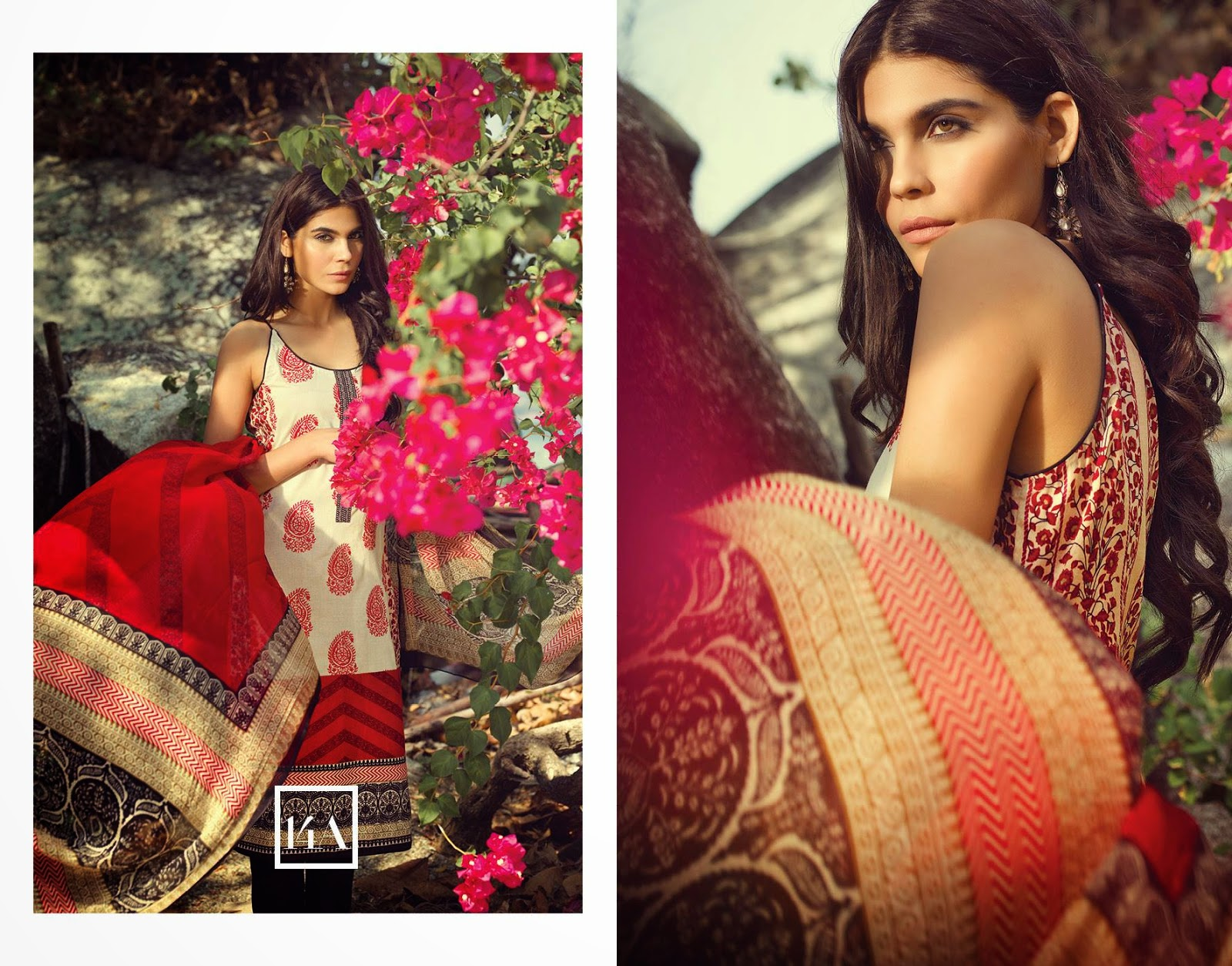 sana safina lawn collection 2015