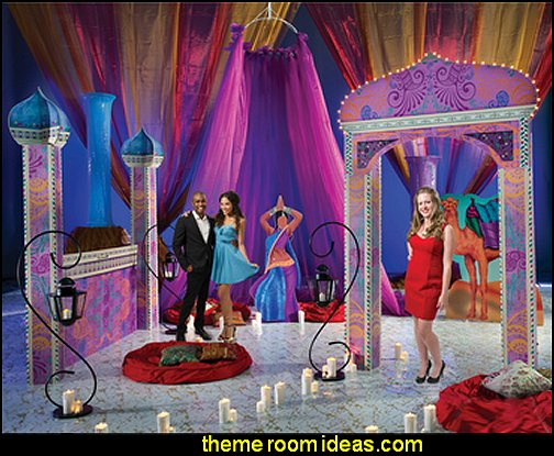 Decorating theme bedrooms maries manor exotic bedroom for Arabian nights party decoration ideas