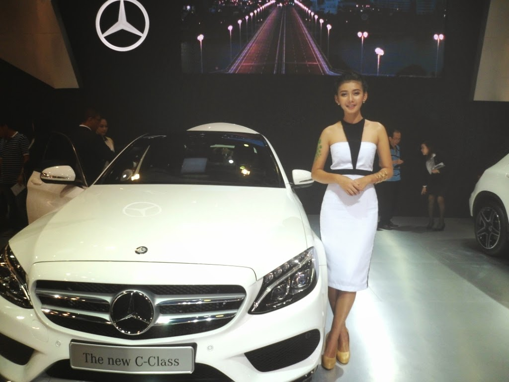SPG Mercedez Benz The New C-Class IIMS 2014-02