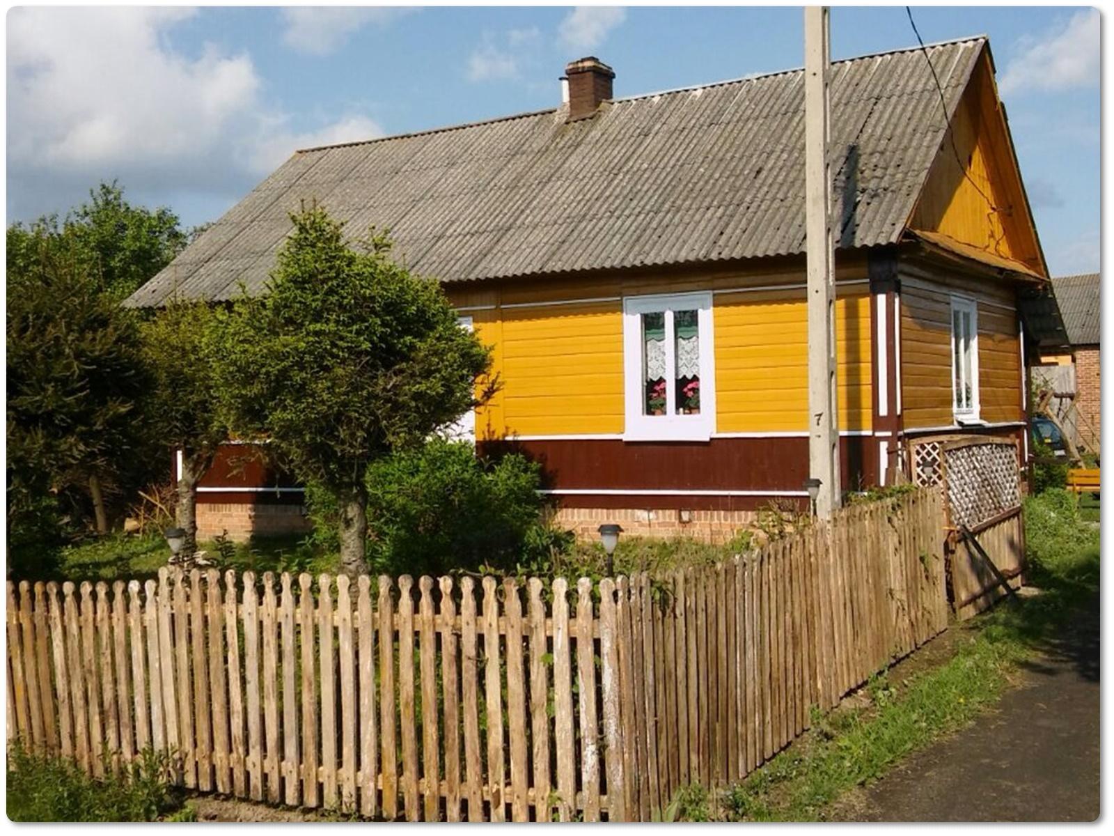 Dom sercem malowany